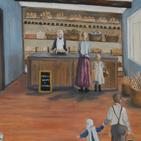 Bäckerei Verkaufstheke von früher